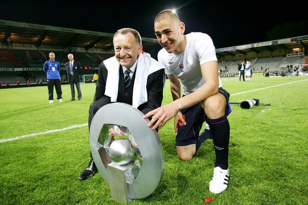 Aulas champion de france ligue 1 lyon